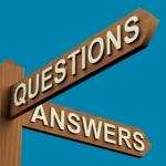 Q&A sign
